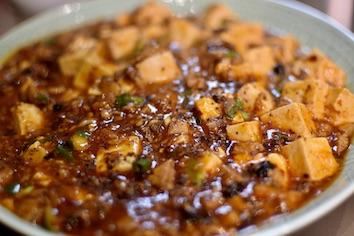 Soft tofu called mapo tofu